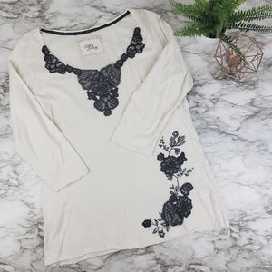 For Love and Liberty I 3/4 Sleeve Blouse